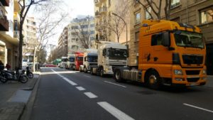 Movilizaciones Barcelona