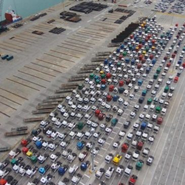 Movilizaciones Puerto de Barcelona