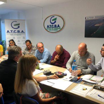 Sintraport participa en reunión