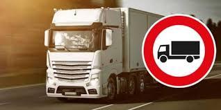 Restricciones a camiones