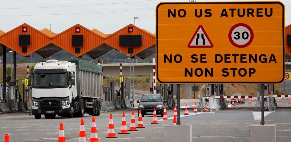Prohibición de circulación Generalitat